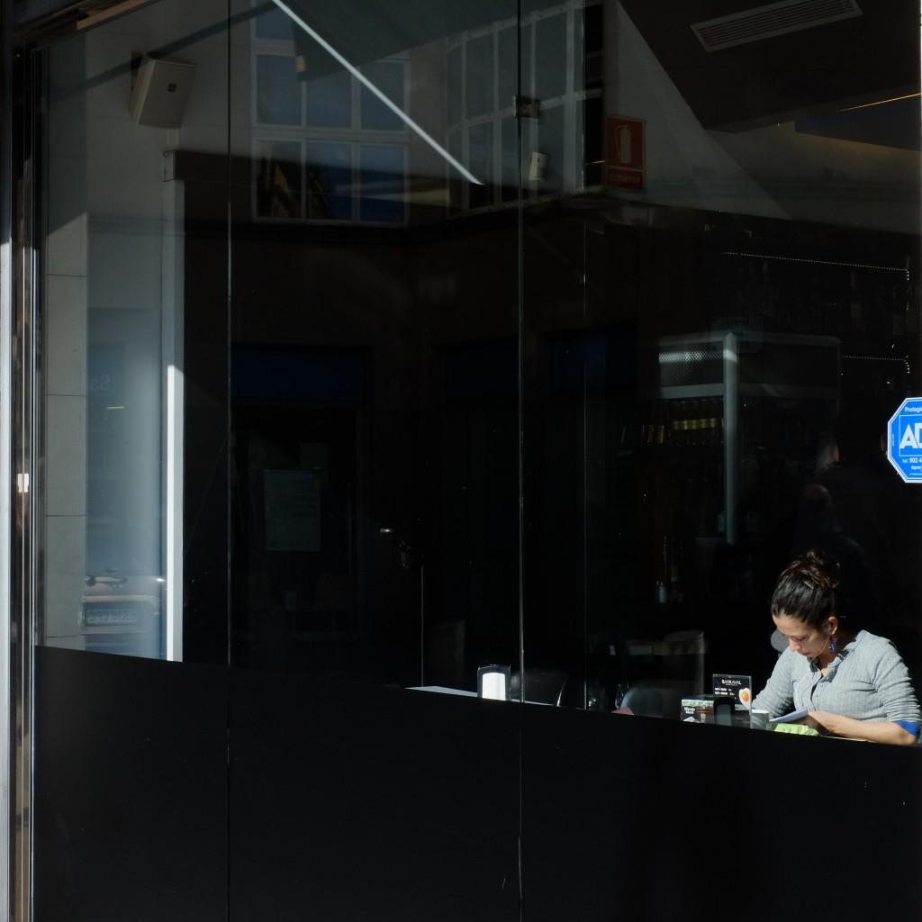 Barcelona - Rambla Del Raval, cafe culture