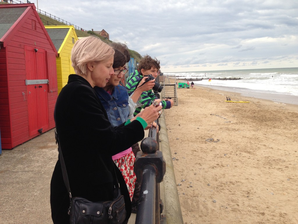 Mundesely, North Norfolk Photography workshops, Young people from  the Youth HUB.