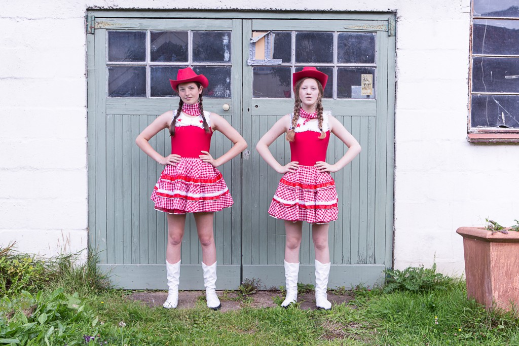 PHEOBE AND OLIVIA_COWGIRLS DANCERS_AUGUST 2015